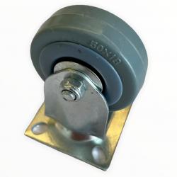 Roulette fixe Ø50x18mm