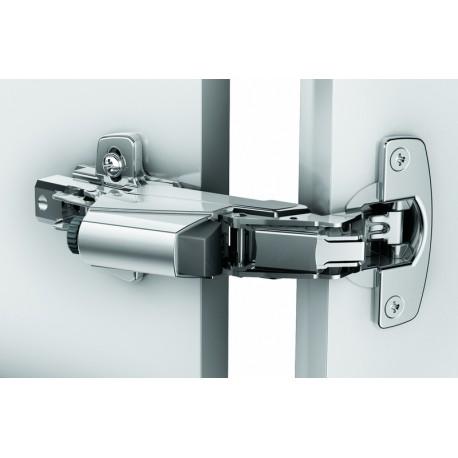 Charnière INTERMAT TH 53 à ENFONCER, ouverture 165° au design Sensys