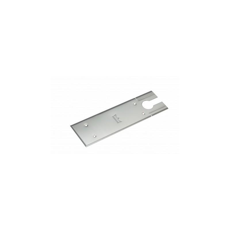 Plaque inox pour pivot de sol bts80 de dorma serrurerie for Plaque inox pour hotte