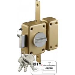 Verrou CAVITH A2P* bouton
