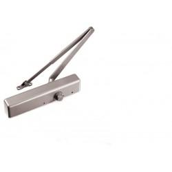 Ferme-porte en applique LCN 1460 avec bras à compas Argent