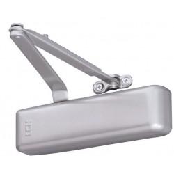 Ferme-porte en applique LCN 4034R bras compas Argent