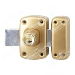 Verrou double entrée avec 4 clés protégées Y8