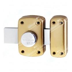 Verrou à bouton avec 4 clés protégés Y8