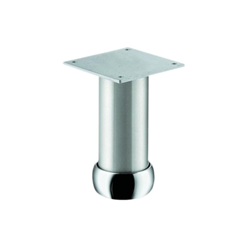 Pied de meuble aluminium rond r glable serrurerie boutique - Pied de meuble reglable ...