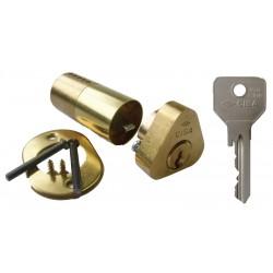 jeu de cylindre de 45mm pour sûreté CISA