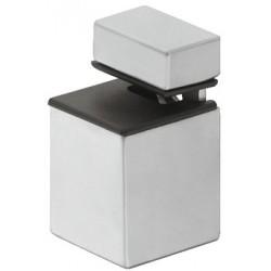 Console carrée pour tablette bois ou verre de 4 à 20mm