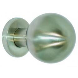 Bouton fixe boule Ø 67 mm, Inox