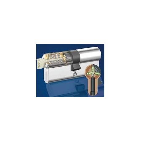 Cylindre Européen STEM 5000 de haute sécurité à 2 entrées