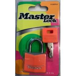 Cadenas en aluminium massif recouvert master lock
