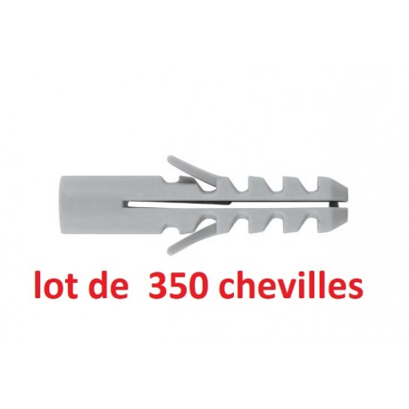 Pack de 350 chevilles universelles INDEX