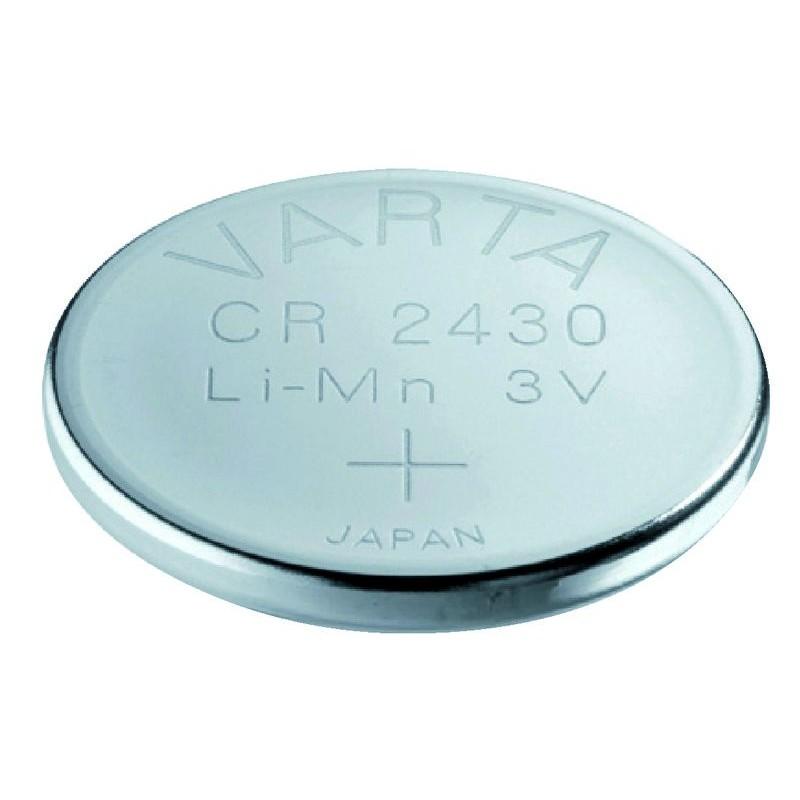 pile bouton lithium cr 2430 3 v serrurerie boutique. Black Bedroom Furniture Sets. Home Design Ideas