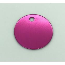 médaille diamètre 25mm + gravure 2 lignes