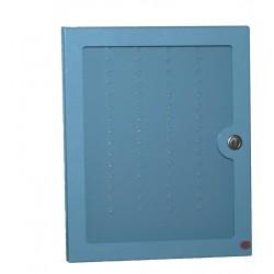 Tableau nominatif avec porte