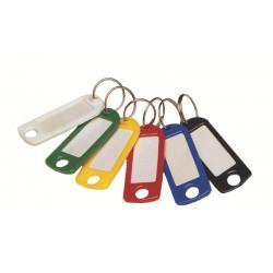 Etiquettes plastique pour clé