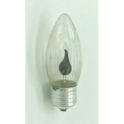 ampoule flamme  Scintillante 3W cuLot E27 claire