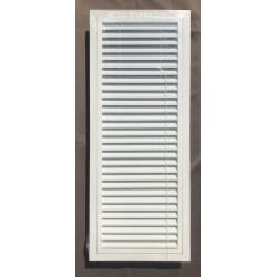 Grille de reprise ou de ventilation avec filtre- ALUMINIUM -BLANC 300x800mm