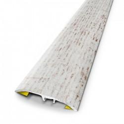 Barre de seuil cottage blanc 3.7x83cm