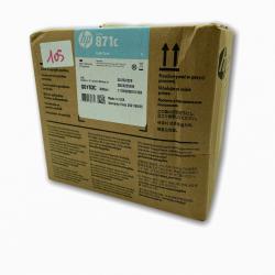 HP 871C cartouche d'encre Latex Cyan, 3 litres,  HP Latex 370, 3000 ml