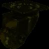 Roulette pivotante à platine, Diam.35 mm