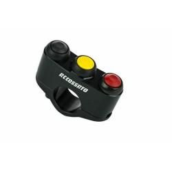 Accossato Interrupteur de course à 3 boutons