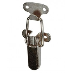 Fermoir à levier et gâche crochet 30x75mm Avec Vis