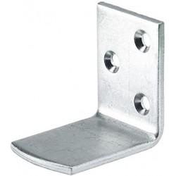 Équerre taquet pour lit acier zingué 35x49x49mm