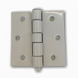 Charnière blanche carrée de 60x60mm